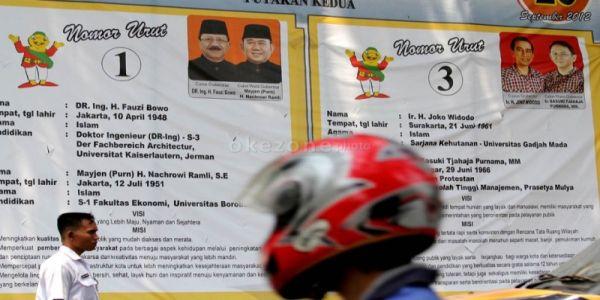 20 September 2012: Jokowi-Ahok Vs Fauzi Bowo-Nachrowi Ramli di Putaran Kedua Pilkada DKI Jakarta