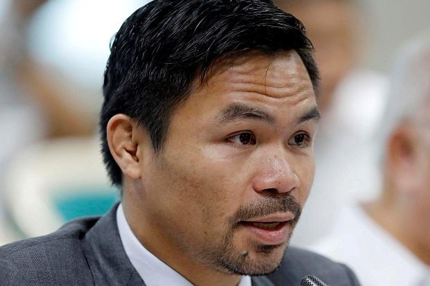 Legenda Tinju Manny Pacquiao Maju Capres setelah Hujat Korupsi Rezim Duterte
