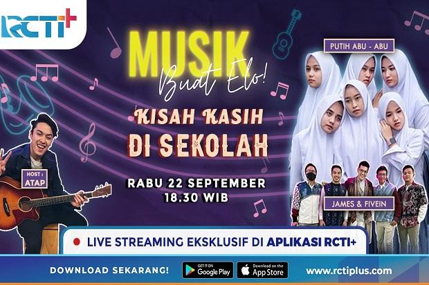 Grup Vokal Viral Putih Abu-Abu Mampir di Musik Buat Elo RCTI+