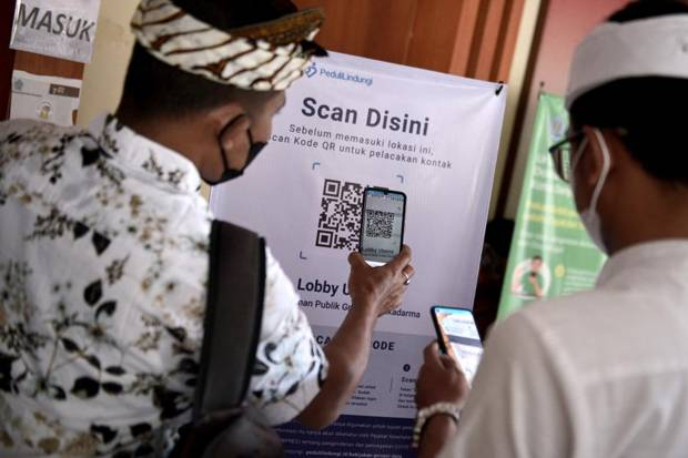 Bekasi Wajibkan Pengunjung Minimarket Gunakan Aplikasi PeduliLindungi