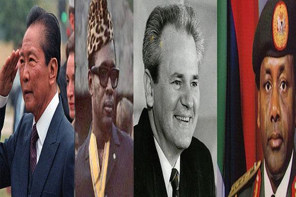 Ini 4 Presiden Paling Korup di Dunia