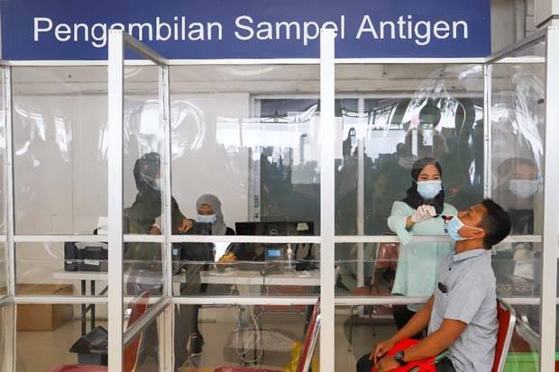Tarif Rapid Test Antigen di Stasiun Turun Menjadi Rp45.000