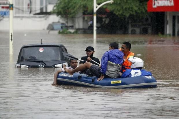 Anies Targetkan Banjir di Jakarta Harus Surut Kurang dari 6 Jam