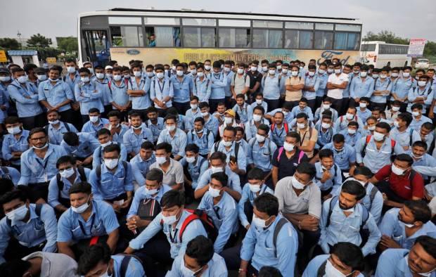 Karyawan Ford di India Mulai Demonstrasi Tolak Penutupan Pabrik