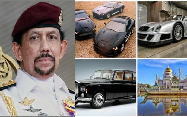 Koleksi Mobil Sultan Bolkiah Brunei yang Bikin Takjub Semua Orang