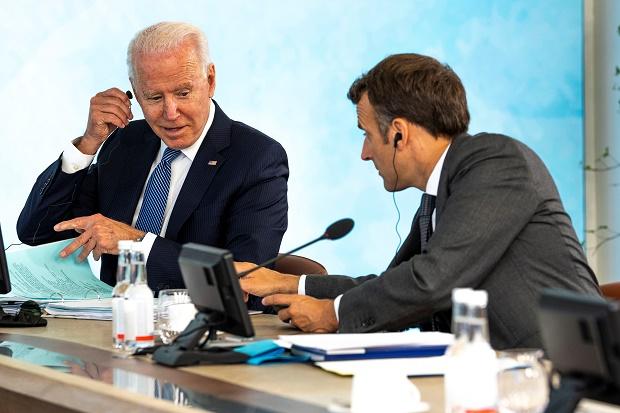 Prancis Kembalikan Dubes ke Washington Pekan Depan Setelah Macron-Biden Bicara