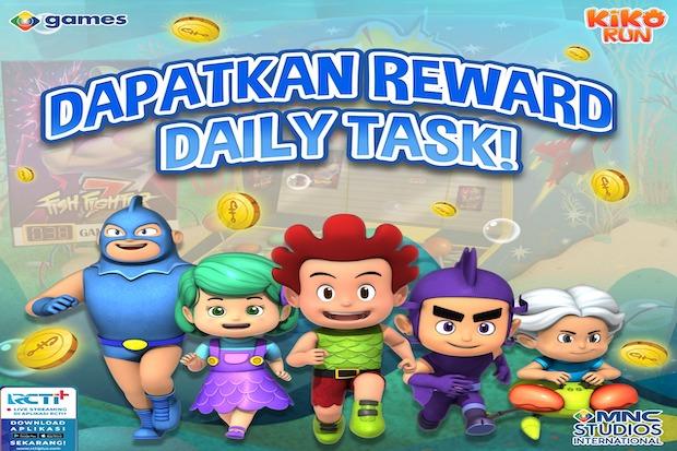 Selesaikan Daily Task di Kiko Run dan Dapatkan Hadiahnya Langsung