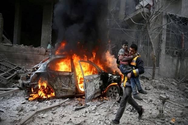 Perang Suriah Satu Dekade Tak Kunjung Berakhir, 350.209 Orang Terbunuh