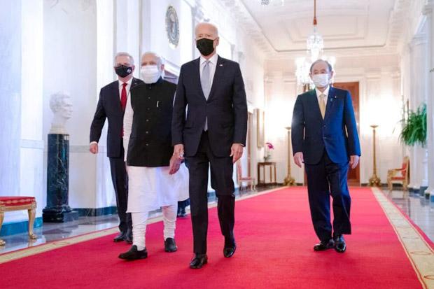 Biden Gelar KTT Quad di Tengah Kekhawatiran Terhadap China
