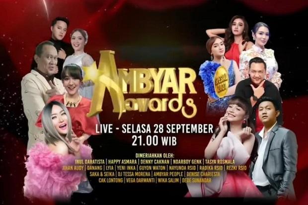 Inilah Nominasi Kategori Terbaik Ambyar Awards Spesial 2021