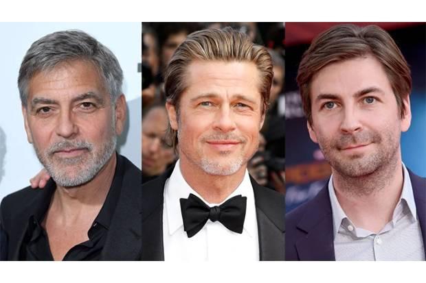 Studio Besar Hollywood Berebut Film Jon Watts yang Dibintangi Brad Pitt dan George Clooney