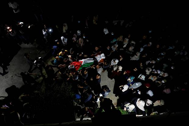 Geruduk Tepi Barat, Militer Israel Tewaskan 4 Warga Palestina