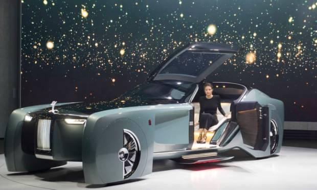 Sambut Mobil Listrik Baru, Rolls-Royce Bikin Gerakan 29 September