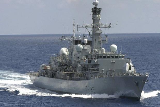 Kapal Perang Inggris Terobos Selat Taiwan Menuju Vietnam