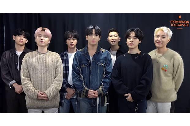 BTS Gelar Konser Tatap Muka Pertama sejak Pandemi Akhir Tahun Ini