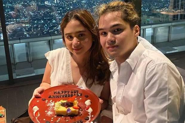 Romantis! Dul Jaelani dan Tissa Biani Rayakan Hari Jadi Pacaran