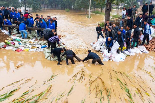 Banjir Bandang Menerjang Kawasan Provinsi Shanxi Yang Merupakan Penghasil Batubara Terbesar Cina, Perburuk Krisis Energi Cina Saat Ini