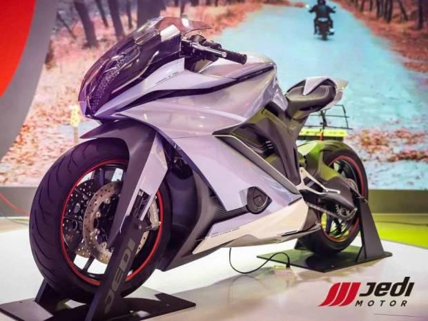 Jinan Jedi Pamer K750 Concept, Motor Star Wars Bikinan China