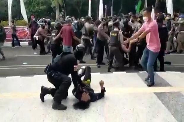 Mahasiswa Dibanting saat Unjuk Rasa di Tangerang, Kapolda Banten Temui Korban dan Minta Maaf