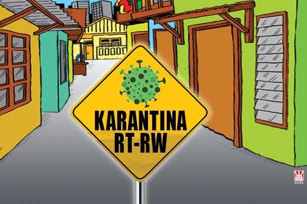 Tinggal 13 RT Masuk Zona Kuning, Sudah 99,82% RT di Bekasi Zona Hijau