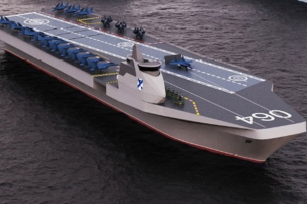 Varan, Kapal Induk Generasi Terbaru Rusia yang Mampu Menampung 50 Pesawat