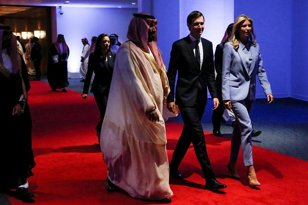 Terungkap, Keluarga Kerajaan Saudi Beri Menantu Trump Hadiah Senilai Rp681 Juta
