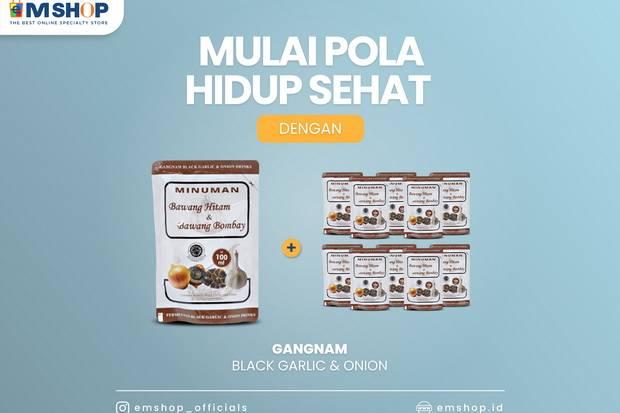Kolesterol Tinggi Berbahaya, Cegah dengan Gangnam Black Garlic dan Onion dari eMSHOP