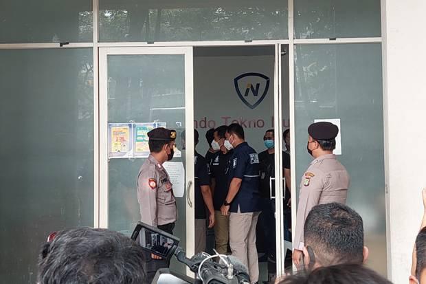 Kantor Pinjol Ilegal yang Digerebek Polisi di Bawah Naungan PT ITN