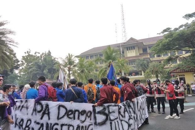Polresta Tangerang Sudah Pulangkan Semua Mahasiswa yang Diamankan saat Unjuk Rasa