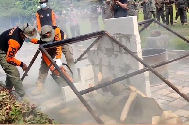 Satpol PP DKI Siaga Hadapi Bencana Alam di Musim Penghujan