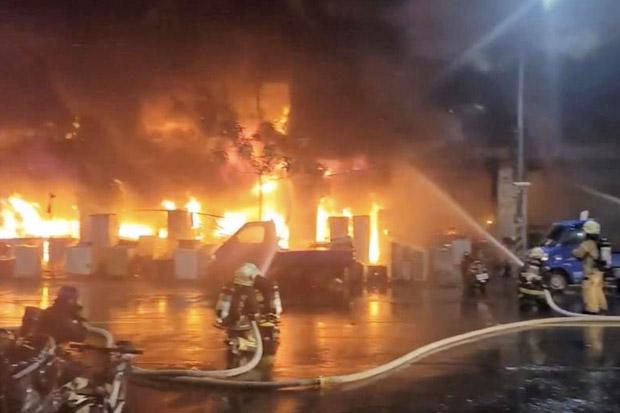 Horor, 46 Tewas dalam Kebakaran Dahsyat di Taiwan