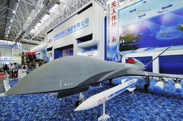 China Bikin Drone Bersenjata Rudal yang Mampu Hindari Pertahanan Udara