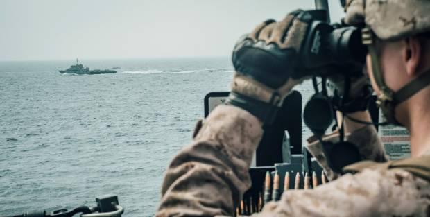 Negara-negara Ini Punya Pasukan yang Berjaga di Selat Hormuz