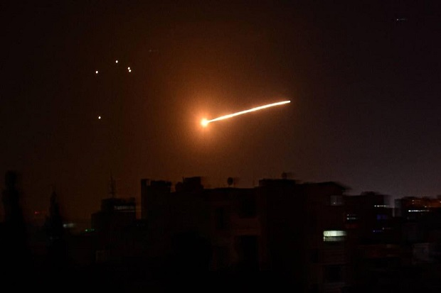 Israel Bombardir Suriah, 1 Tentara Rezim Assad Tewas