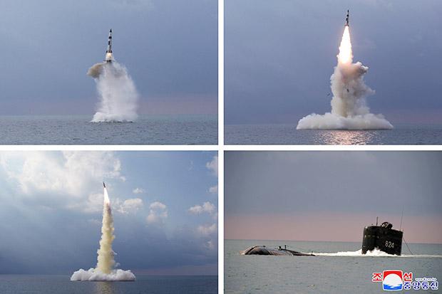 Korea Utara (Korut) mengatakan telah melakukan uji coba rudal balistik baru dari kapal selam (SLBM) pada Selasa kemarin.