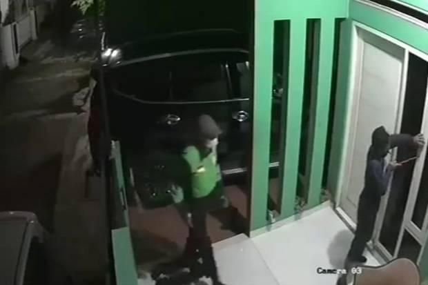 Pelaku Pencurian Mobil Pajero di Pondok Melati Diperkirakan 6 Orang, Salah Satunya Berjaket Ojol