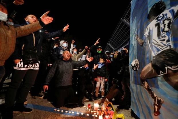 Diego Maradona Meninggal, Inilah Potret Kedukaan Rakyat Agentina
