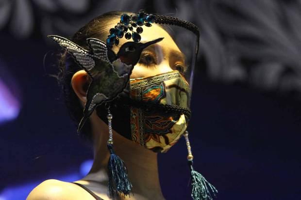 FOTO: Lomba Desain Masker di Malang Batik Festival 2021