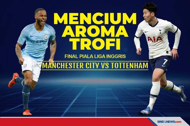 SINDOgrafis: Final Piala Liga Inggris: Manchester City vs ...