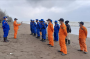 6 ABK Hilang, Kapal Tugboat Logindo Terbalik di Pantai Limbangan Pemalang