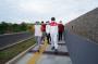 Gubernur Tinjau Pembangunan Pedesterian Timur Titik Nol Sulawesi