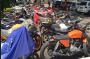 Ratusan Sepeda Motor Berknalpot Blombongan Ditindak Tegas Polisi