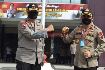 Brigjen Pol Ahmad Luthfi Jabat Kapolda Jawa Tengah