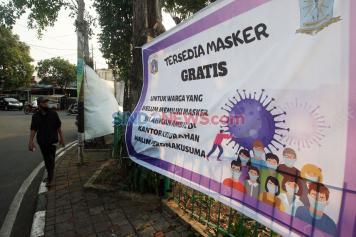 Tenang, Warga Tak Memiliki Masker Bisa Ambil di Kelurahan Halim Perdanakusuma