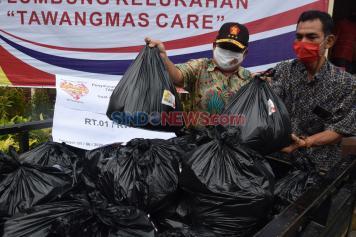 Semarang Indah Care Distribusikan Ribuan Paket Sembako ke Warga Terdampak Covid-19