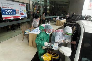 OMNI Hospitals Hadirkan Drive Thru Rapid Test COVID-19