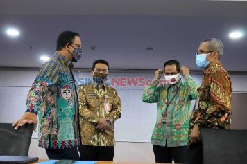 KPK dan Pemprov DKI Bahas Penyaluran Bansos Warga Terdampak Covid-19