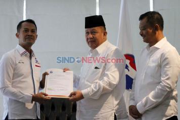 Perindo Beri Dukungan Yusuf-Tulus Maju di Pilkada Kota Bandar Lampung