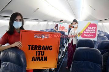 Kampanye Terbang Itu Aman di Bandara Ahmad Yani Semarang