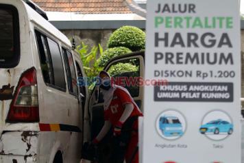 Hanya di Tangerang Selatan, Harga Pertalite Turun Setara Premium